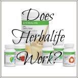 does Herbalife work