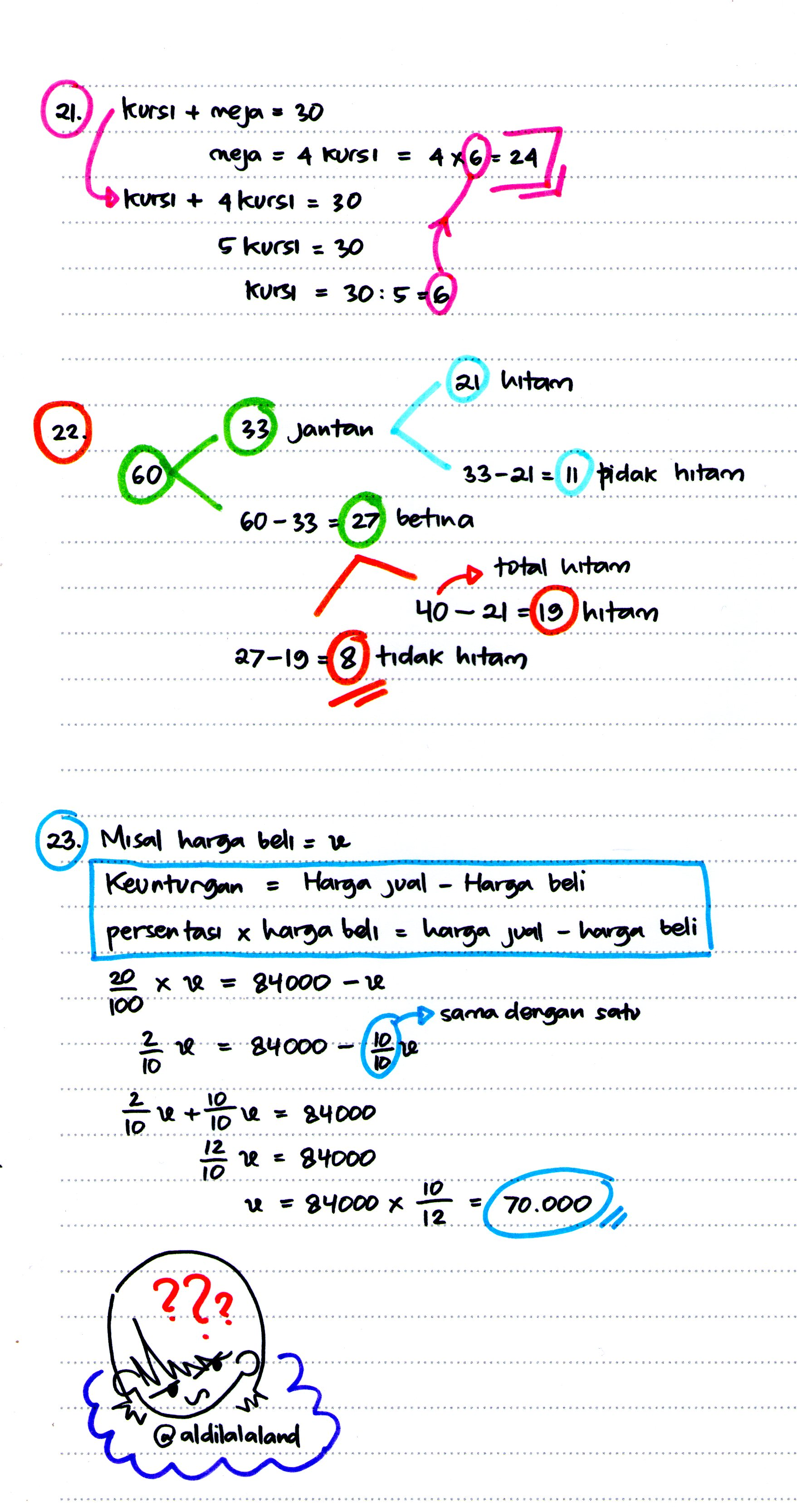 Bagi sejumlah orang mengerjakan soal matematika dasar psikotes merupakan hal yang cukup sulit untuk dikerjakan. Psikotes Logika Matematika Episode 4 5 Dan 5 5 Selesai Ada Cerita Apa Hari Ini