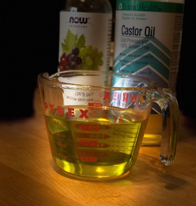 Castor and Grapeseed Oil Face Wash