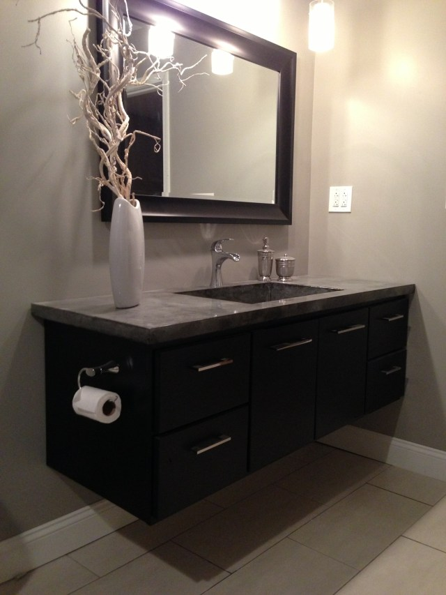 Custom Bathroom Cabinets Custom Laminate Countertops