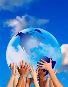 hand earth