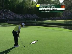 Tiger's Drop Shot @Masters