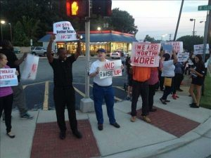 Fast Food Protesters 2