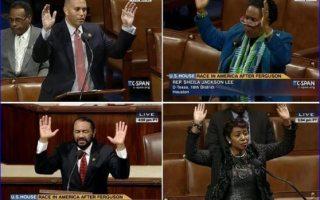 hands up congress