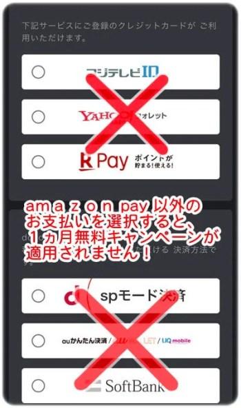 支払方法画面