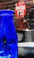 Bright Blue Bottle