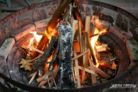 Fire up the fire pit