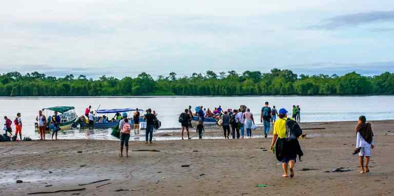 Nuqui Colombia: Quickly Sinking in the Middle of the Pacific
