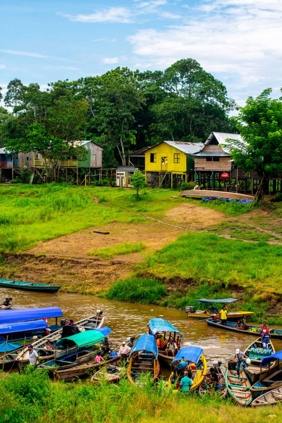 Leticia, Colombia Boats