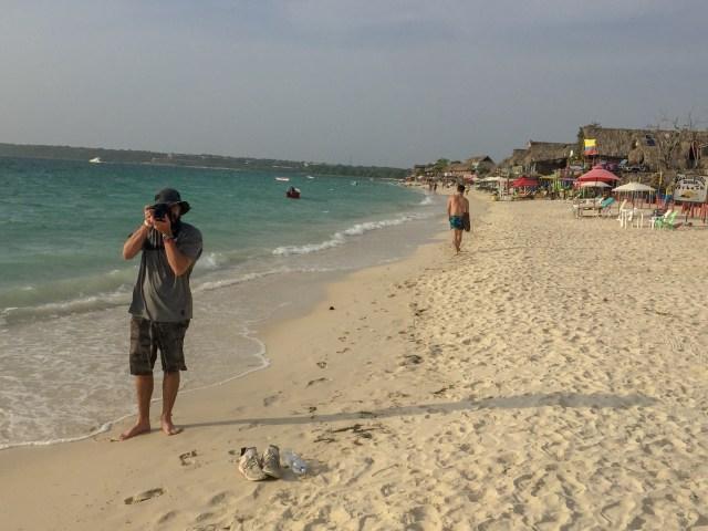 Playa Azul, Cartagena