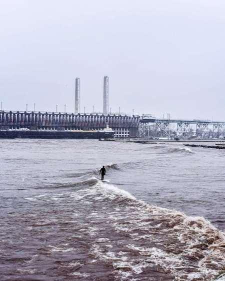 surfing in michigan