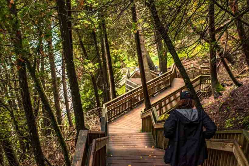 Arch Rock Stair Path