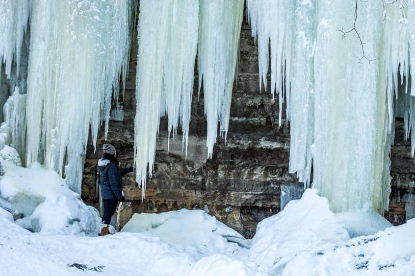 Eben Ice Caves: The UP's Must Visit Winter destination Now