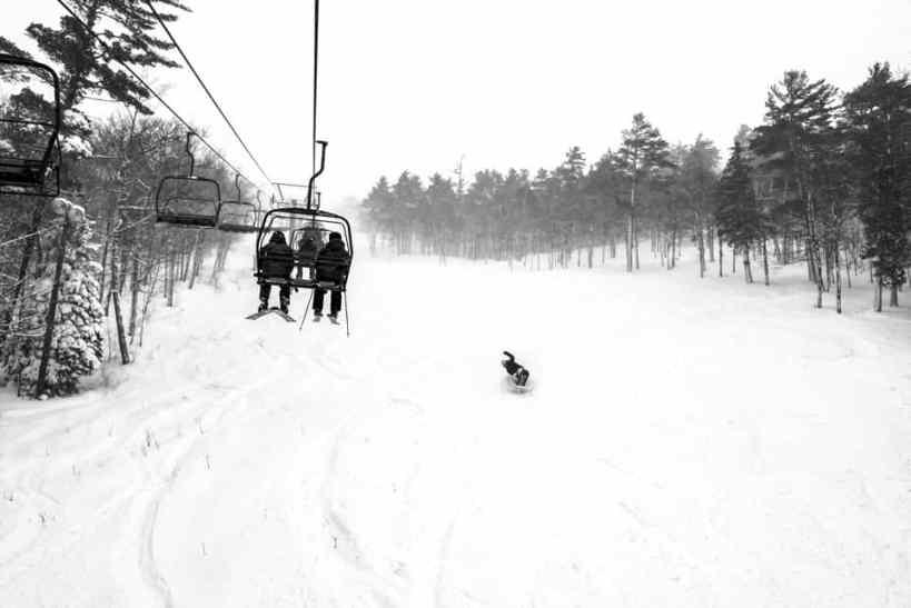 mt bohemia snow