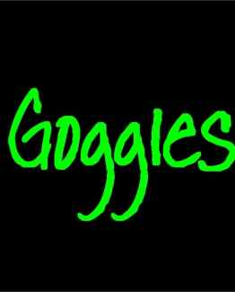 Eyeglass Goggles