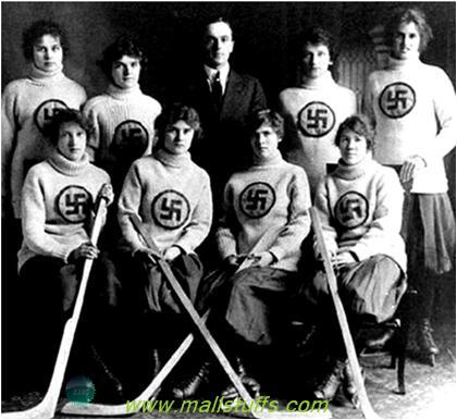 Канадская женская команда по хоккею с мячем