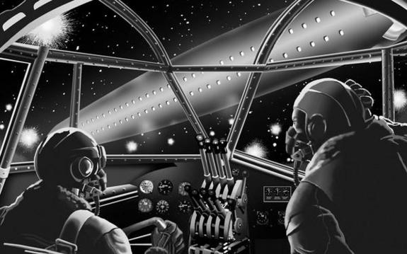 НЛО в Европе. Foo fighters ufo