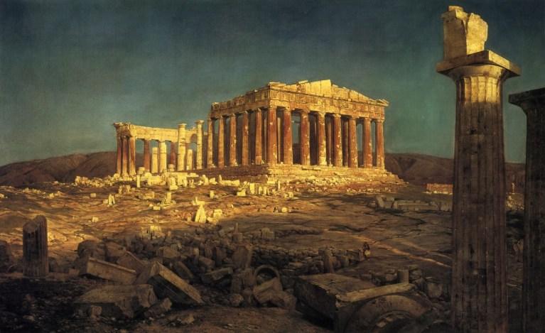 В древности не произошла промышленная революция