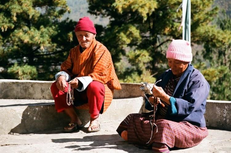 Секреты долгожительства старики бутана