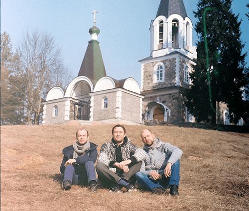 Православный монастырь в западной Беларуси