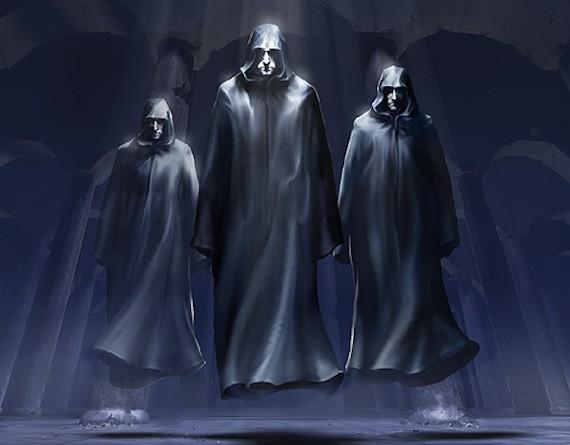 Девять мистических людей