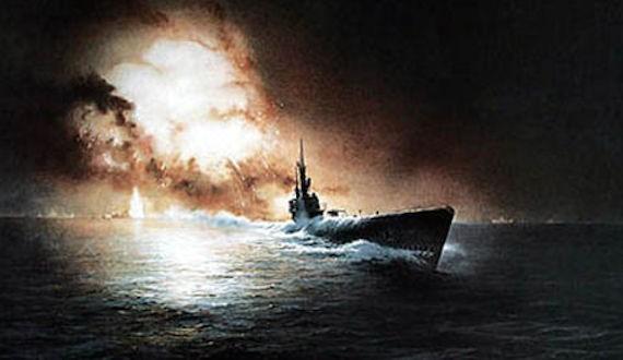 немецкой подводной лодкой