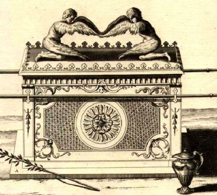 Ковчег с гравюры