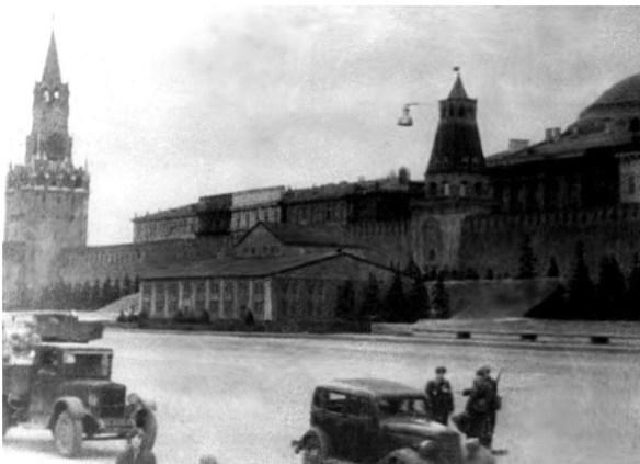 мавзолей Ленина 1941