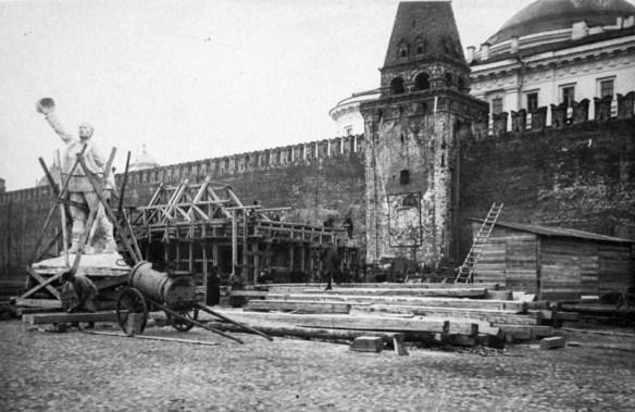 первый мавзолей