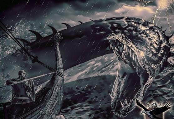 хтонические чудовища скандинавской мифологии