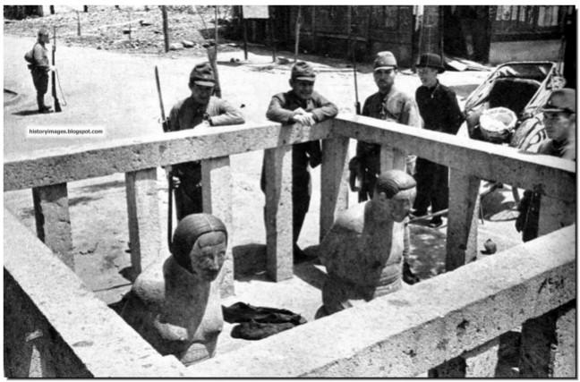 Исчезновение людей во время войны Японии с Китаем 1937