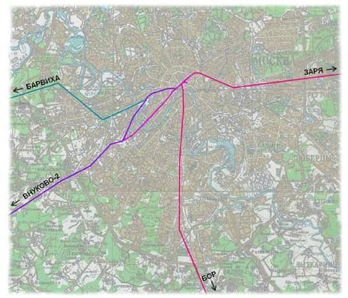 Metro 2 Схема