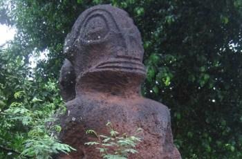 Каменные божества древних полинезийцев