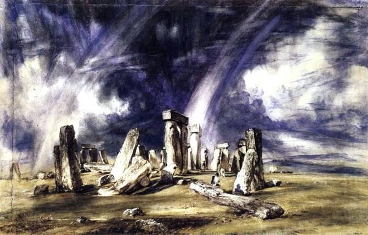 Руины Стоунхендж мегалитическое сооружение древних друидов