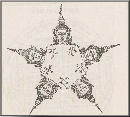 Обзор. Магические татуировки Таиланда - Сак Янт
