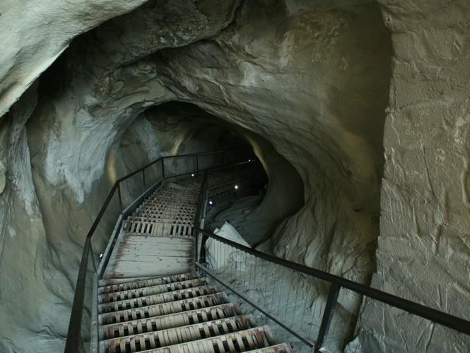 Туннель в Уплисцихе