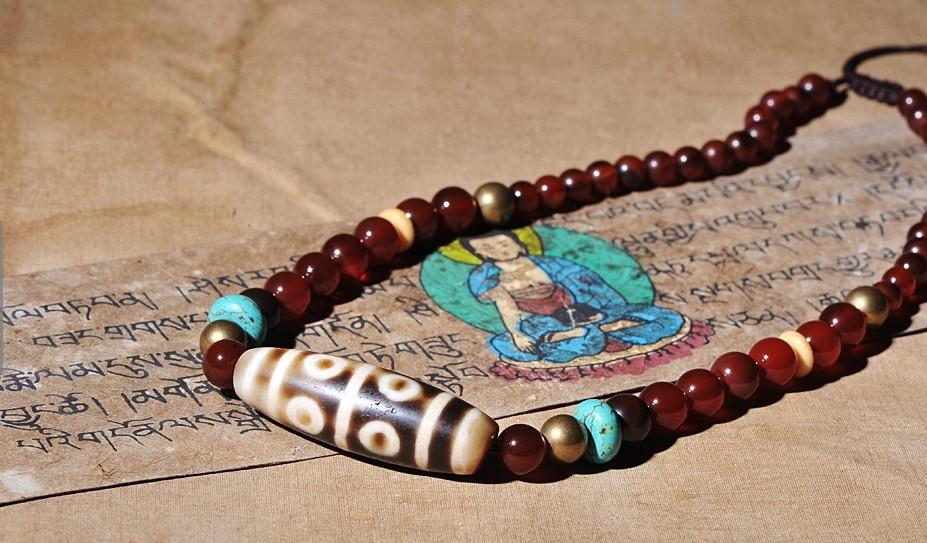 Бусины Дзи — древние тибетские талисманы