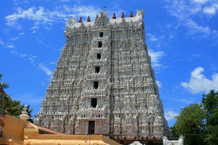 Древний храм в Керале