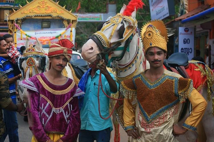 Праздник в Керале