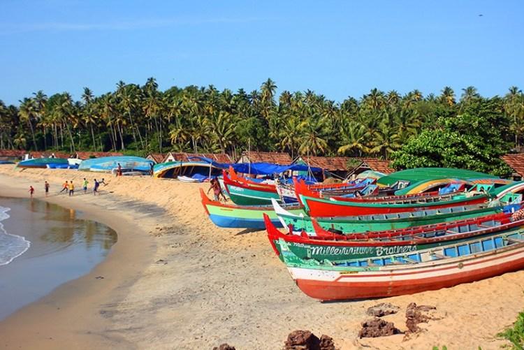 Рыбацкая деревня в Керале