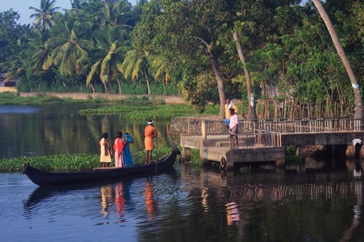 Озеро в Керале