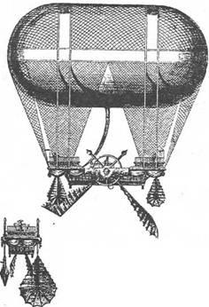 Аэростат Масса с веслами