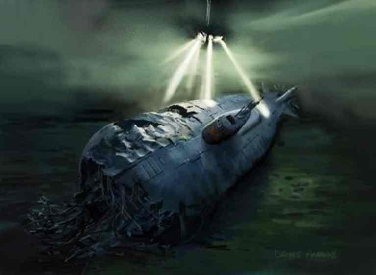 Гибель подводных лодок тайны океанов