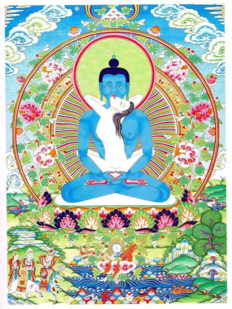 Ади-Будда (санскр. adi-buddha IAST; «Первоначальный Будда») — в буддизме махаяны и ваджраяны олицетворение всех будд и бодхисаттв, их вневременное единство.