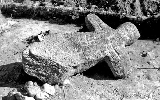 Древняя Беларусь каменный крест