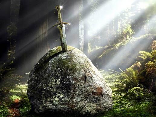 Рождённый стать королем. Экскалибур - меч Артура