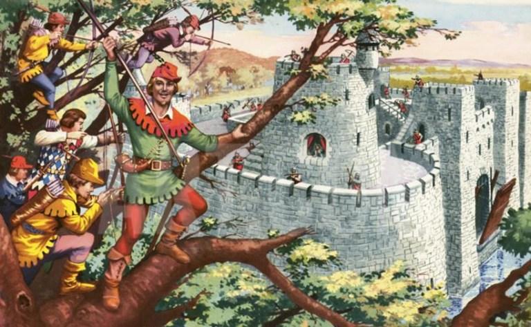 Робин Гуд это реальная личность или миф?