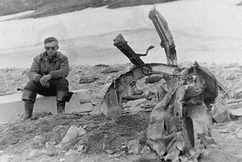 Обломки самолета Сигизмунда Леваневского