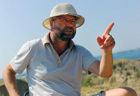 Археолог Владимир Кузнецов