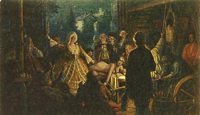Салтычиха женщина монстр 18 века